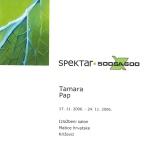 Tamara Pap, 2006.