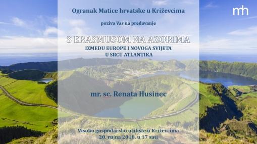 pozivnica - predavanje azori