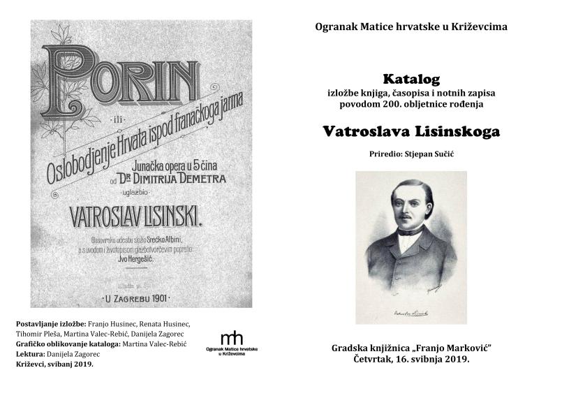 katalog izložbe naslovnice i zadnja